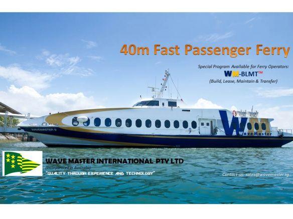 40m Fast Passenger Ferry