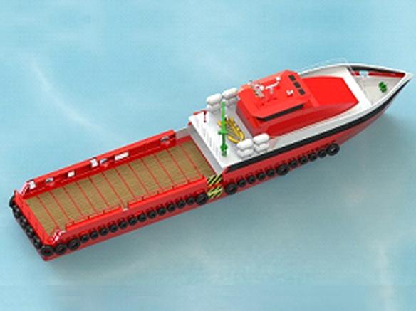 FAST CREW BOAT (proven hull)